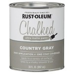 Farba kredowa do mebli Rust-Oleum Chalked Ultra Matte 887ml Country Gray