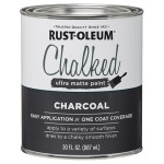 Farba kredowa do mebli Rust-Oleum Chalked Ultra Matte 887ml Charcoal