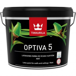 Tikkurila Optiva 5 Matt 2,7l mat kolor 1906