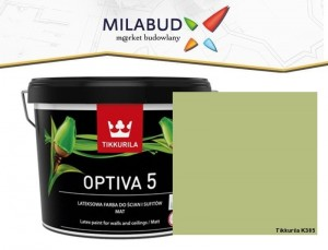 Tikkurila Optiva 5 Matt 2,7l kolor  K385 Meadow