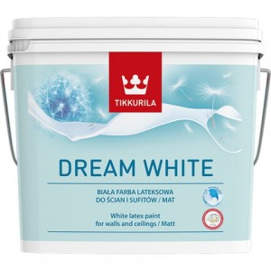 Tikkurila Dream White 10l mat