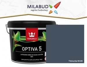Tikkurila Optiva 5 Matt 2,7l kolor N429 Denim