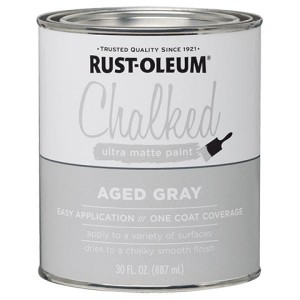 Farba kredowa do mebli Rust-Oleum Chalked Ultra Matte 887ml Aged Gray