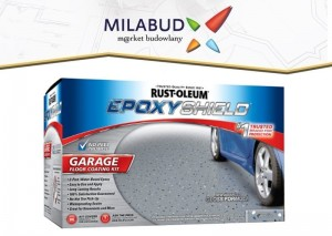 EpoxyShield Garage Floor Coating wodna farba epoksydowa do betonu 3,54l zestaw