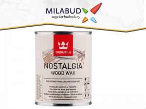 Tikkurila Nostalgia Wood Wax 1l olej RAISIN