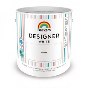 Beckers Designer Colour White 2,5l