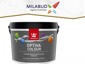 Tikkurila  Optiva Colour 2,7l pełny mat