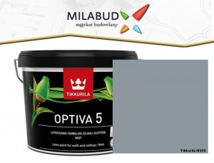 Tikkurila Optiva 5 Matt 2,7l kolor N500 Agate