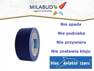 Blue Dolphin taśma malarska MP-PG 38mm (50mb)