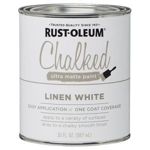 Farba kredowa do mebli Rust-Oleum Chalked Ultra Matte 887ml Linen White