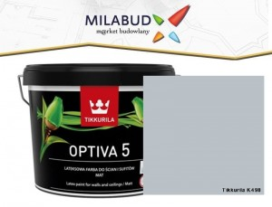 Tikkurila Optiva 5 Matt 2,7l kolor K498 Haven