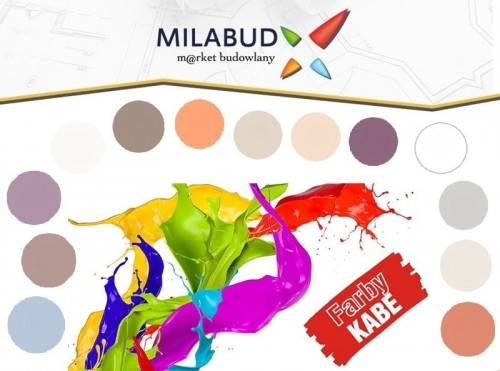 Farby Kabe Prolatex 25l Farba Lateksowa Kolory
