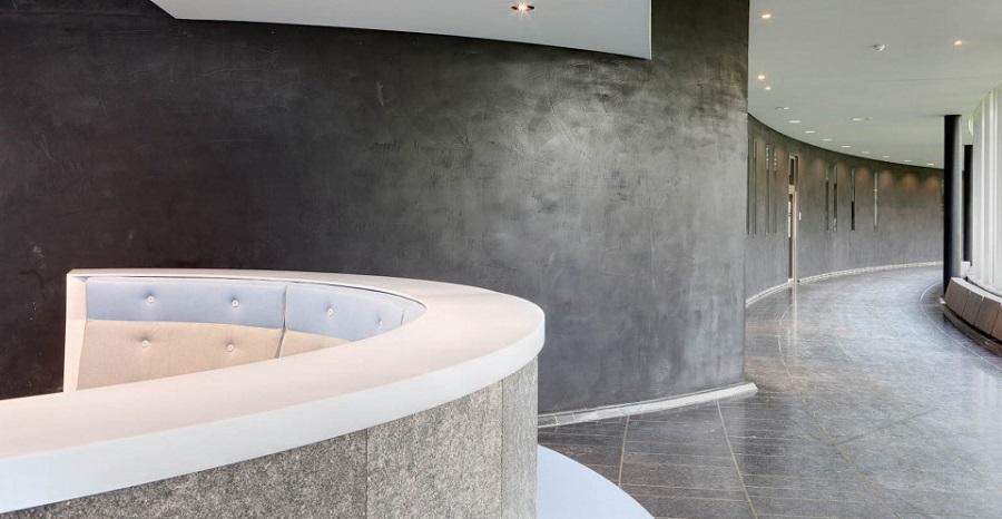 Ardex B10 beton dekoracyjny w biurze