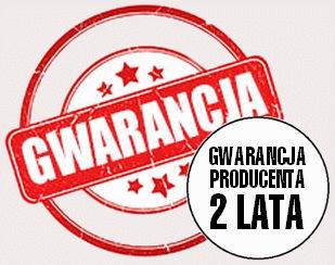2 lata gwarancji producenta
