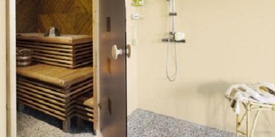 Łazienka z prysznicem bez płytek