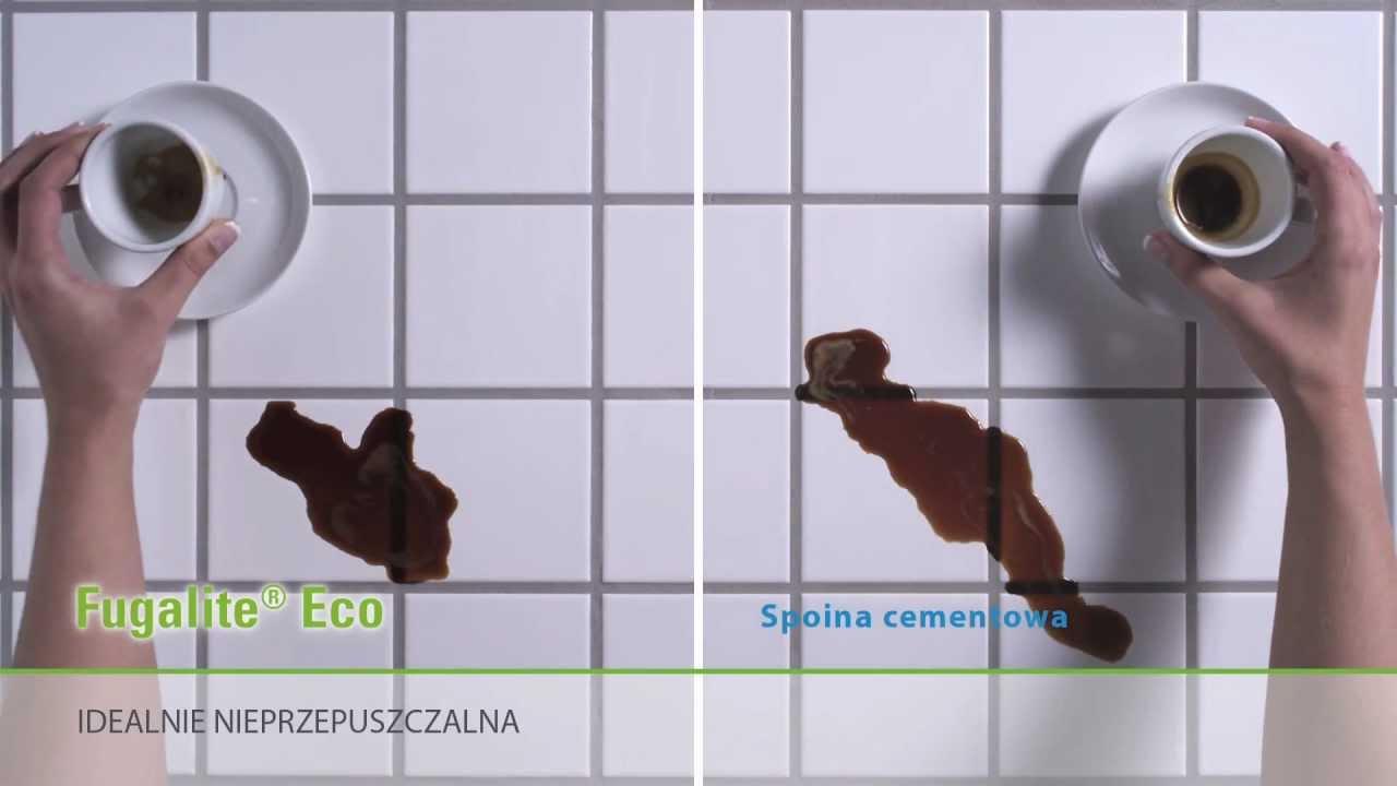 Fugalite Eco vs. spoina cementowa