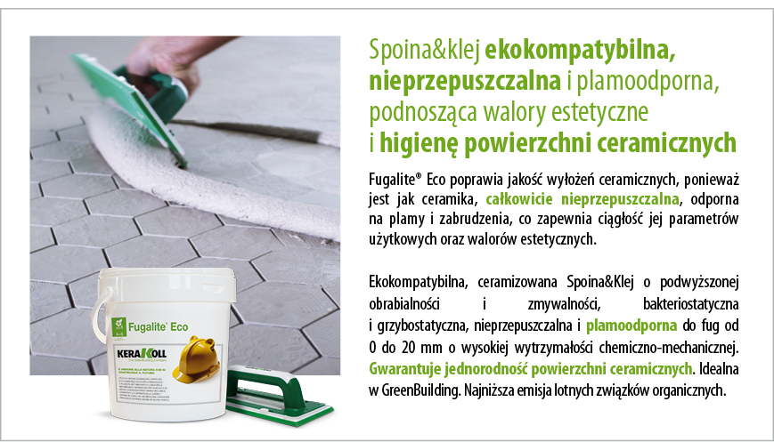 Kerakoll Fugalite Eco - opis produktu
