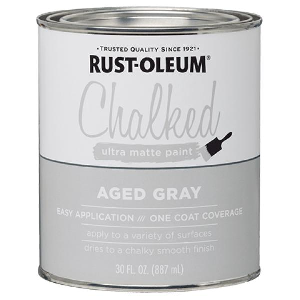 farba kredowa do mebli chalked ultra matte paint aged gray