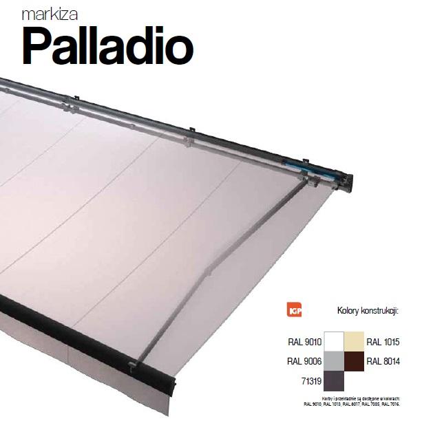 Selt Palladio Markiza Tarasowa Kaseta 260x350cm
