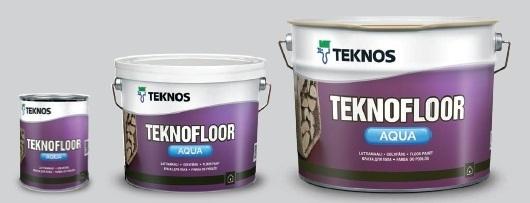 Teknofloor Aqua - ekologiczne farby do posadzek