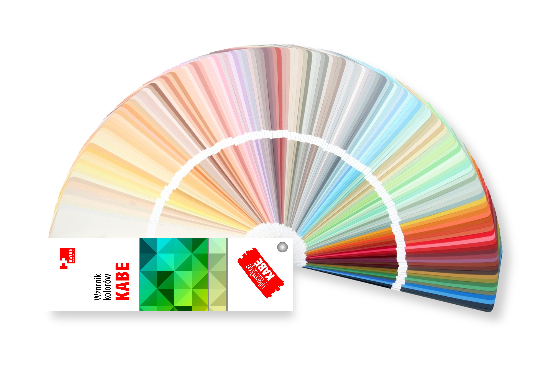Farby Kabe wzornik kolorów