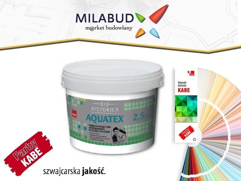 Kabe Aquatex 10l Farba Antyrefleksyjna Gleboki Mat Milabud