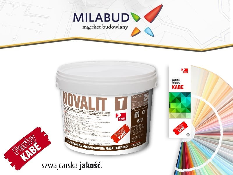 Kabe Novalit T Tynk Silikatowy Transport Gratis Milabud