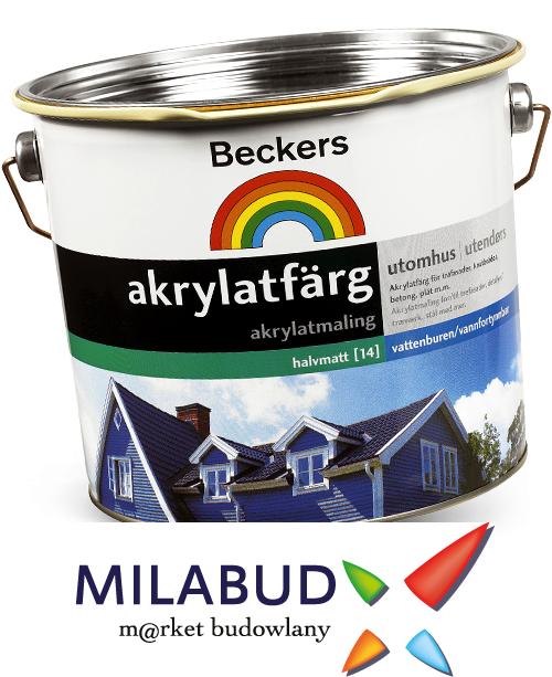 beckers akrylatfärg max
